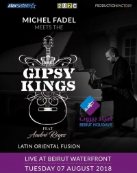 Michel Fadel meets the Gipsy Kings